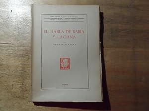 El habla de babia y laciana -: Alvarez,Guzman