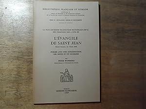 L'evangile de Saint Jean: Wunderki,Peter(signiert)
