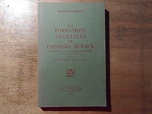 Les Formations Vegetales et Paysages Ruraux - Lexique et Guide Bibligraphique: Plaisance,Georges