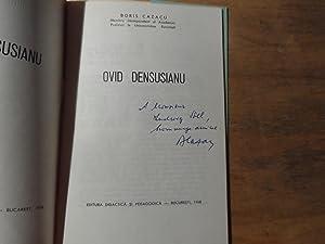 Ovid Densusianu: Cazacu,Boris(signiert)