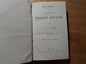 Geschichte der deutschen National-Literatur - 2 Bände in einem Band: Vilmar,A.F.C.