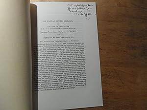 Der Nachlass Ludwig Bertalots - Verzeichnis der nachgelassenen Schriften: Goldbrunner,Hermann ...