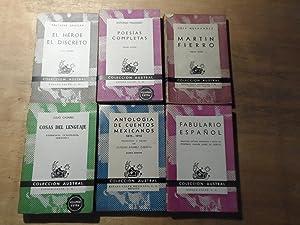 Coleccion Austral - Fabulario espanol - Antologia: Gracian,Baltasar - Machado,Antonio