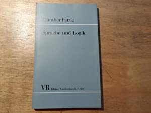 Sprache und Logik: Patzig,Günther