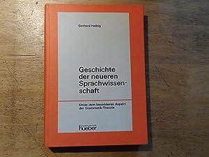 Geschichte der neueren Sprachwissenschaft - Unter dem: Helbig,Gerhard