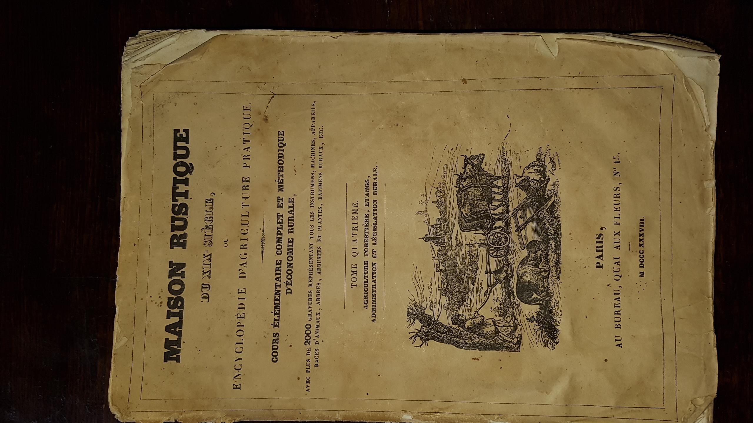 Maison rustique du xixe siècle ou encyclopédie d agriculture