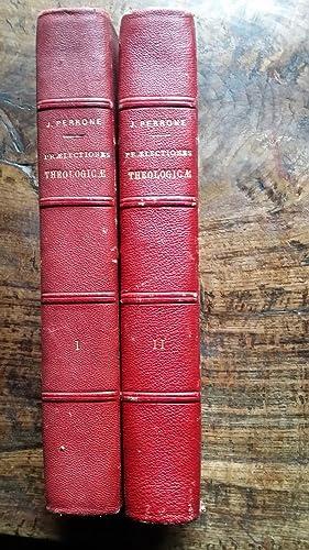 PRAELECTIONES THEOLOGICAE THEOLOGICAE QUAS IN COLLEGIO ROMANO SOCIETIS JESU HABEBAT J.PERRONE e ...