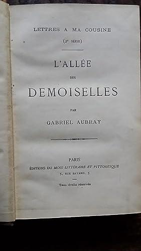 L'ALLEE DES DEMOISELLES: AUBRAY Gabriel