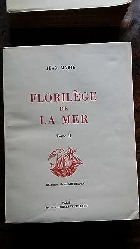 FLORILEGE DE LA MER: Jean MARIE