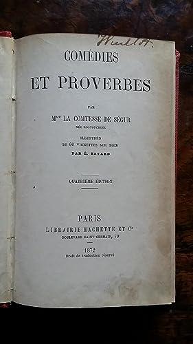 COMÉDIES et PROVERBES: Mme la Comtesse de SEGUR, née Rostopchine.