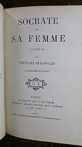 LE BAISER, COMEDIE suivi de SOCTATE ET SA FEMME, COMEDIE, sivi de GRINGOIRE, COMEDIE: BANVILLE ...