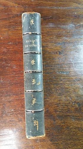 Eugénie De Guérin: Journal et fragments. Publiés avec l'assentiment de sa...