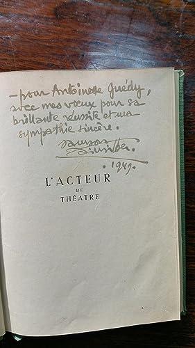 L'acteur de théâtre: Samson FAINSILBER