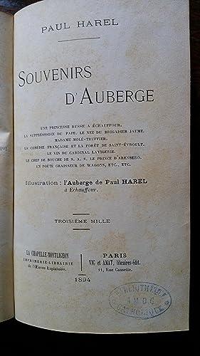 Souvenirs d'auberge: Paul HAREL