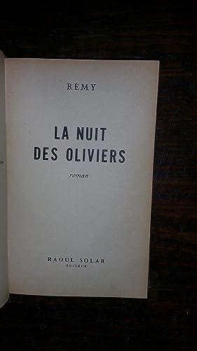La nuit des oliviers: REMY
