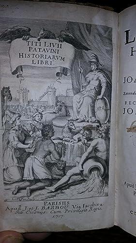 Historiarum quod exftat cum integris Joannis Freinshemii supplementis Emendatioribus & fuis ...