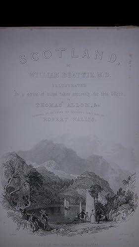 L'Ecosse pittoresque, ou suite de vues prises expressement pour cet ouvrage par MM. T. Allom, ...