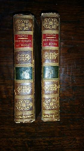 Les merveilles du monde, ou les plus beaux ouvrages de la nature et des hommes, répandus sur...