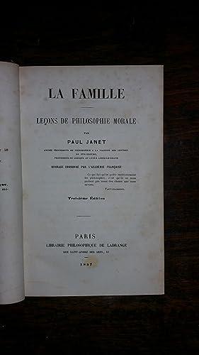 La famille: Paul JANET