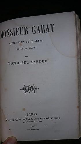 Théâtre tome VI : Les vieux garçons suivi de Séraphine suivi de Monsieur...