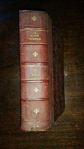 Le Monde moderne - huitième année - Tome XV Janvier à juin 1902: Collectif