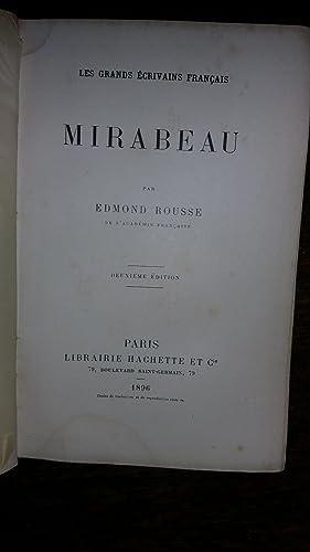 Mirabeau: Edmond ROUSSE