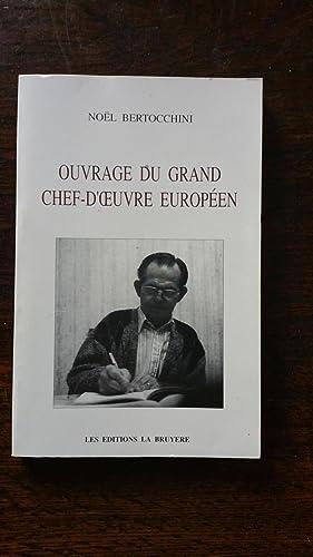 Ouvrage du grand chef-d'oeuvre européen: No�l BERTOCCHINI