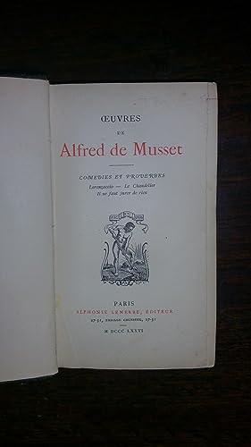 Comédies et proverbes : tome I : Lorenzaccio, Le chandelier, Il ne faut jurer de rien, notes...