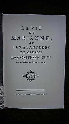 La vie de Marianne ou les avantures de Madame la Comtesse de ***: Marivaux