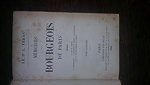 Mémoires d'un bourgeois de Paris- tome V: Le Dr. L. VERON