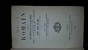 Antiphonaire Romain, comprenant les offices de None: Collectif