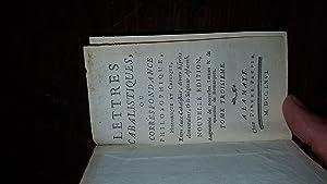Lettres Cabalistiques, Ou Correspondance Philosophique, Historique &: Jean-Baptiste BOYER D'ARGENS