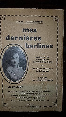 Mes Dernières Berlines. Poésies et Monologues en: Jules MOUSSERON