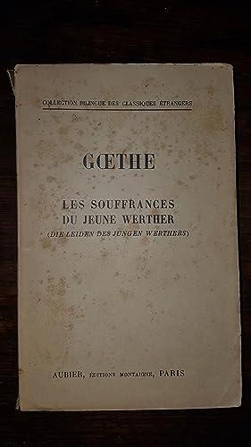 LES SOUFFRANCES DU JEUNE WERTHER - DIE: GOETHE