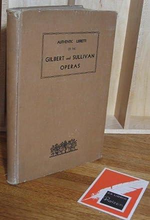 Authentic Libretti of the Gilbert and Sullivan: Frederick Hobbs