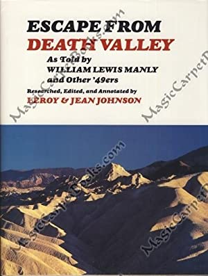 Escape from Death Valley: As Told by: Johnson, LeRoy; Johnson,