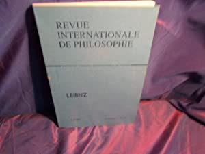 Revue internationale de philosophie- leibniz