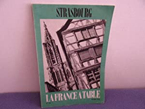 La france a table n° 192- strasbourg