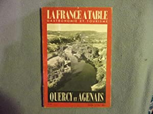 La france a table n° 432- Quercy et Agenais