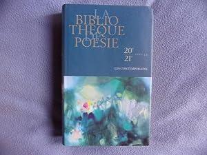 La Bibliothèque De Poésie 20 21 ème Siècle