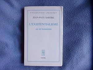 L'existentialisme est un humanisme: Jean Paul Sartre