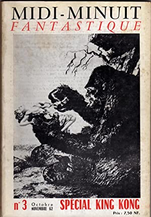 MiDI-MINUIT FANTASTIQUE , Nº 3, Spécial King-Kong: Losfeld, Eric (Directeur)