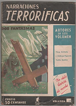 NARRACIONES TERRORIFICAS Nº22, DOS FANTASMAS: Varios, Dirigida Por José Mallorquí Figuerola