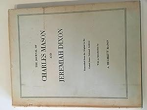 The Journal of Charles Mason and Jeremiah: Hughlett Mason, A