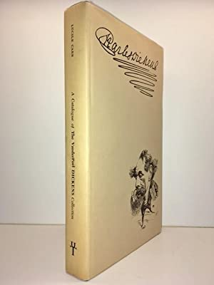 A Catalogue of the Vander Poel Dickens Collection at the University of Texas: Carr, Sister Lucile [...
