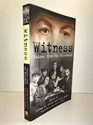 Witness:: Voices from the Holocaust: Greene, Joshua M.;