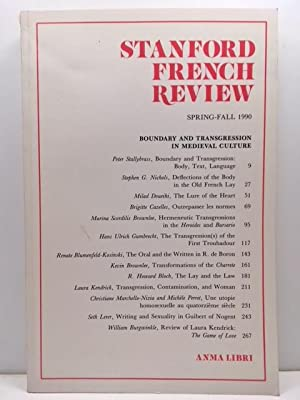 Stanford French Review - AbeBooks