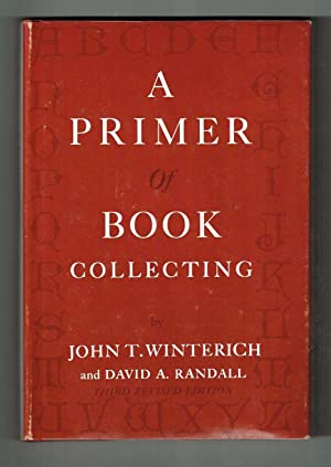 Primer of Book Collecting (Third Revised Edition)