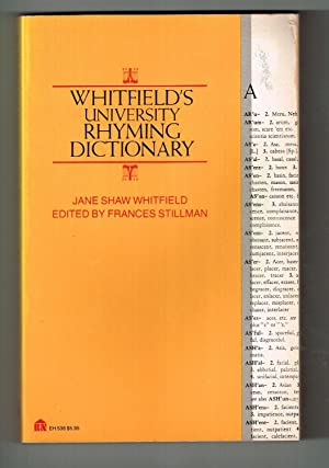 Whitfield's University Rhyming Dictionary