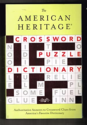 The American Heritage Crossword Puzzle Dictionary (American Heritage Dictionary)